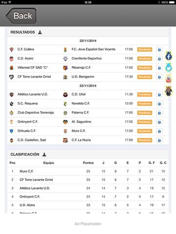 PLUSXATIVAIOS - Escuela Futbol Plus Xativa screenshot 10