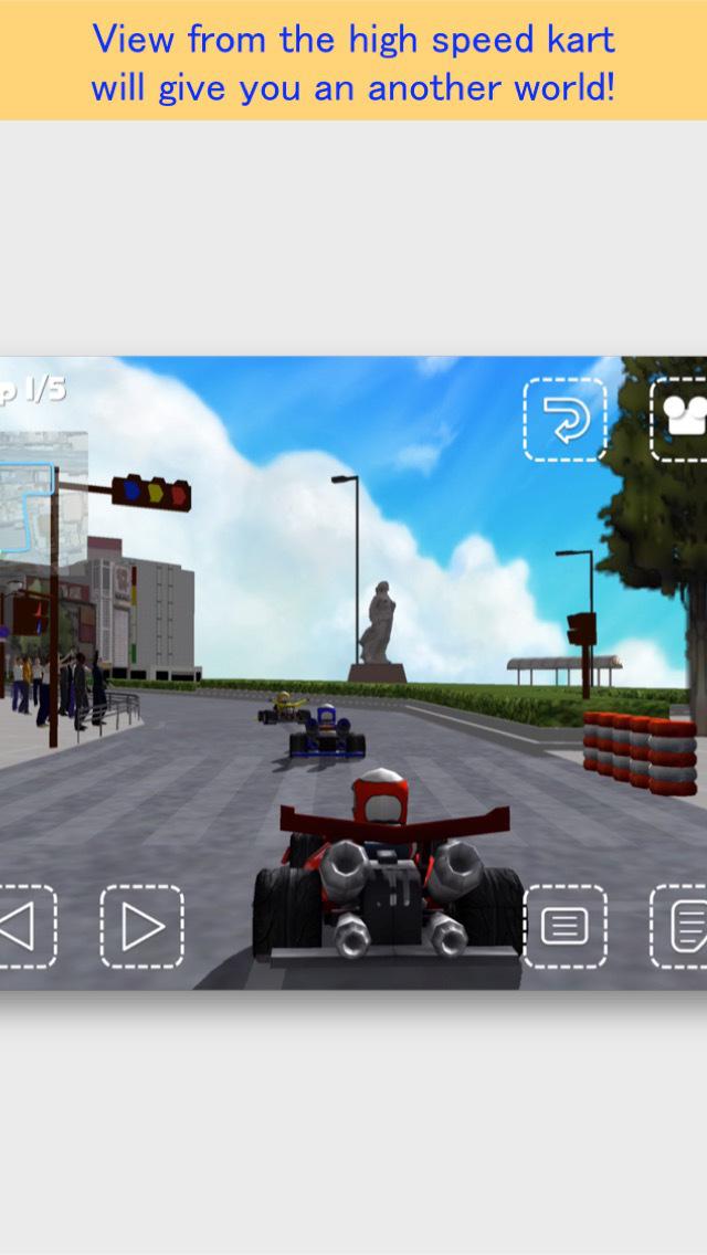 Namba Kart Racing FREE screenshot 3