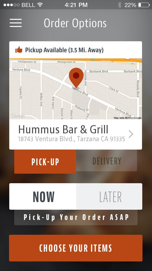 Hummus Bar & Grill screenshot 2