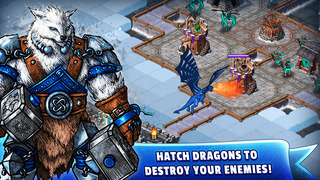 WinterForts: Exiled Kingdom Empires at War (Strategic Battles and Guilds) screenshot 3