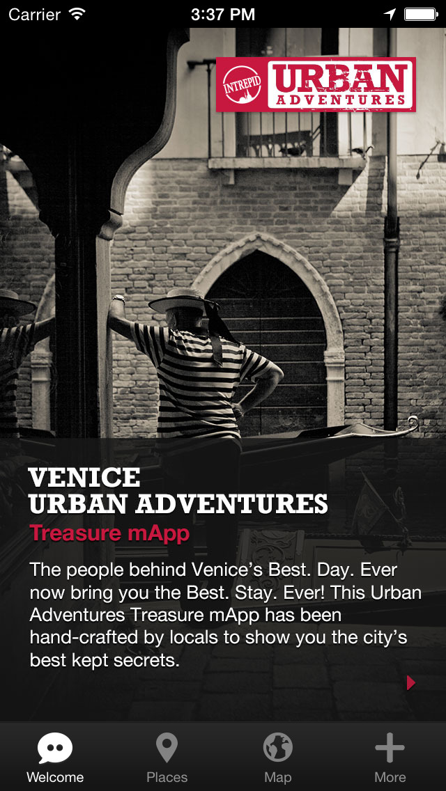 Venice Urban Adventures - Travel Guide Treasure mApp screenshot 1