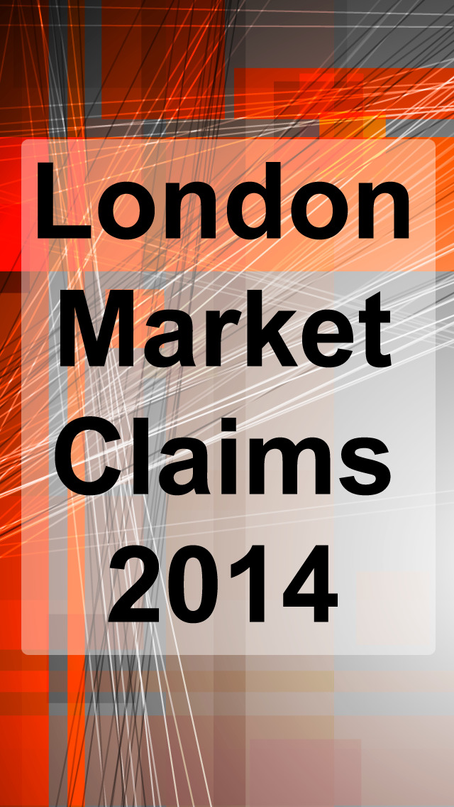 London Market Claims 2014 screenshot 1