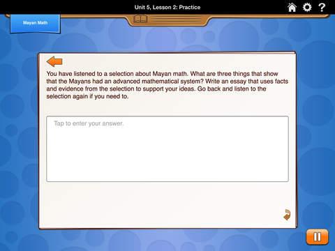 HMH English Learner Assessment Practice Grade 4 screenshot 4