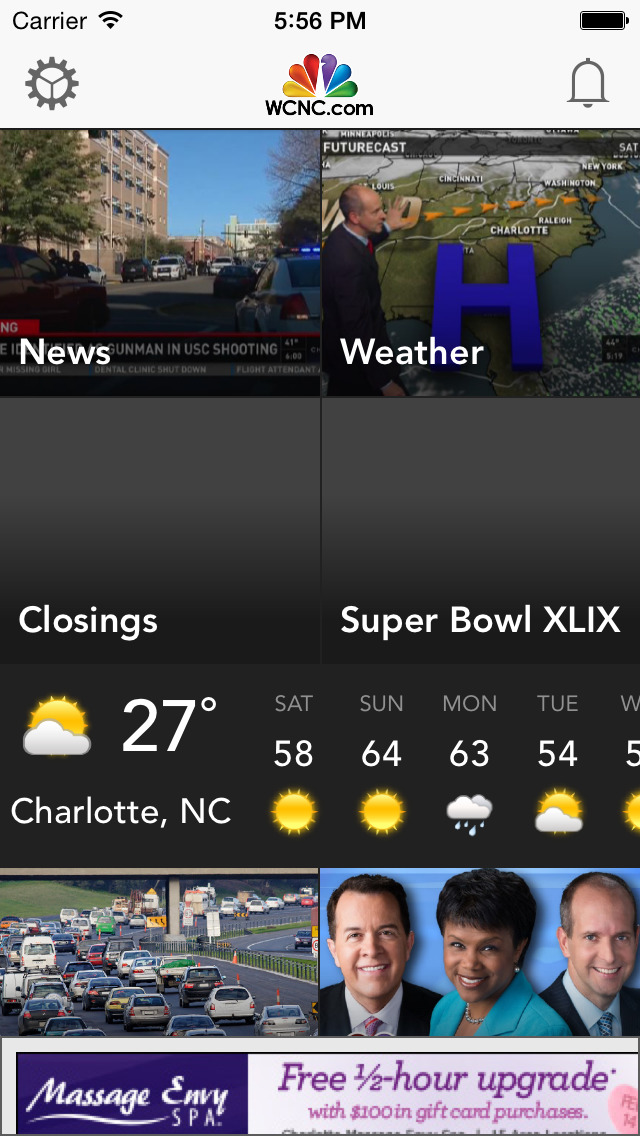 WCNC Charlotte News screenshot 1