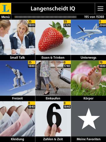 Englisch Vokabeltrainer Langenscheidt IQ – Vokabeln lernen mit Bildern screenshot 6