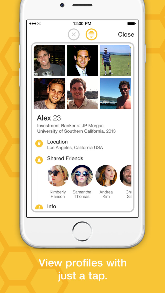 Bumble dating app ipad