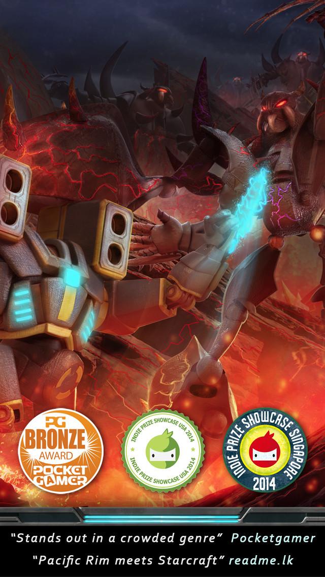 Nitropia - War Commanders screenshot #1