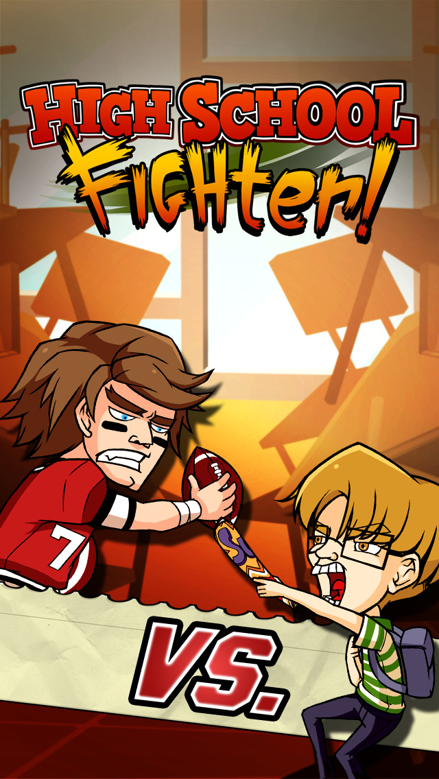 High School Fighter - Best Action Fighting Game screenshot #1