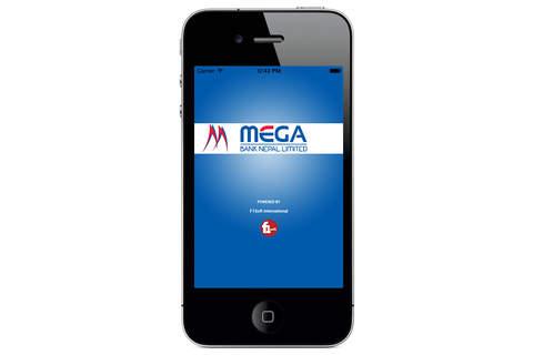 Mega Mobile Banking - náhled