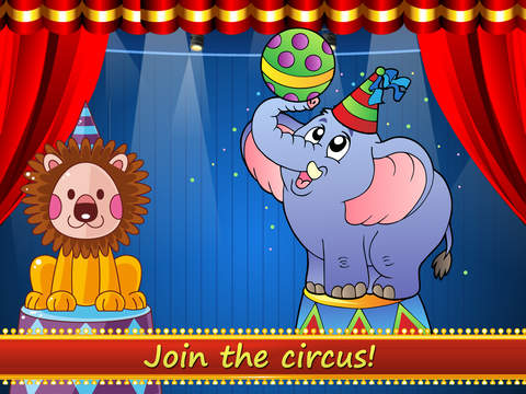 All Clowns in the toca circus - Free app for children screenshot 5