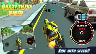 Crazy Theft Biker screenshot 2