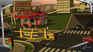 Car Transport Trailer 3D screenshot 3