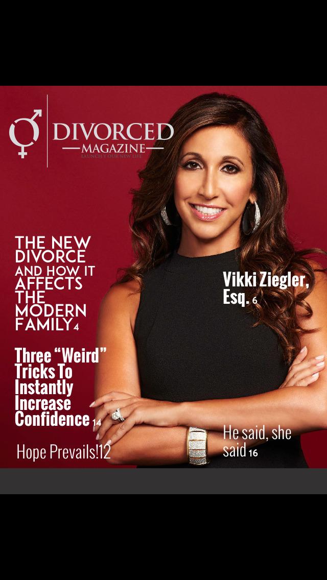 DIVORCE 411 MAGAZINE screenshot 1