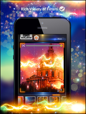 Awesome Light Camera FX Plus - The ultimate photo editor plus art image effects & filters screenshot 10