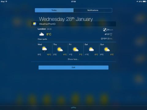 WeatherPro for iPad screenshot 5