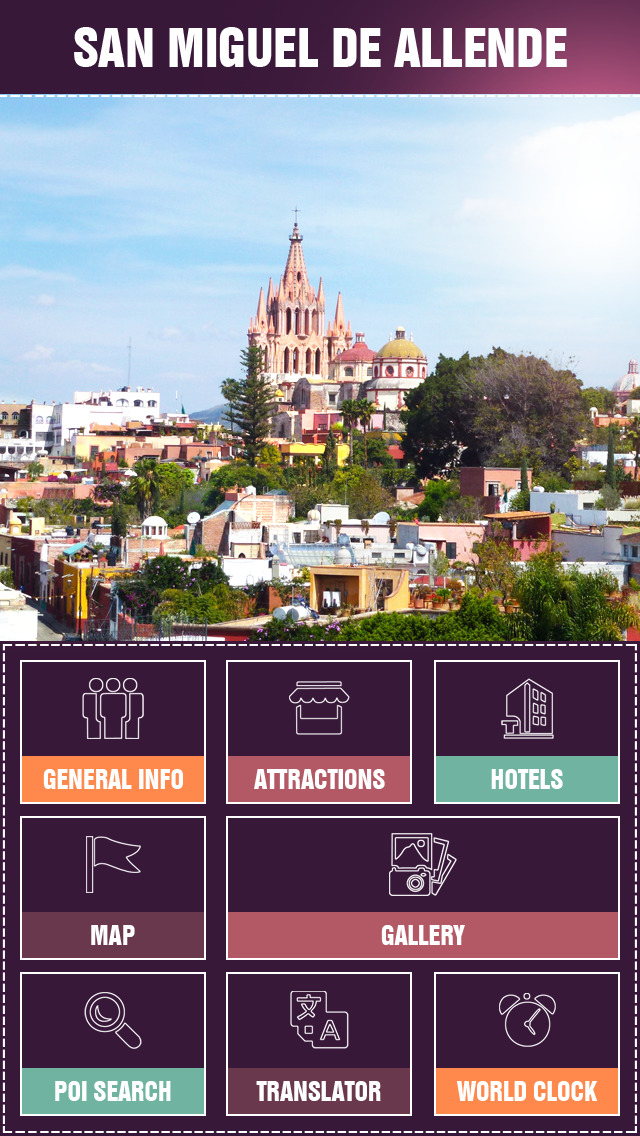 San Miguel de Allende Travel Guide screenshot 2