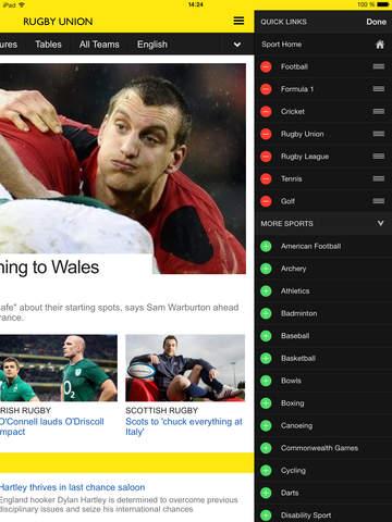 BBC Sport screenshot 9