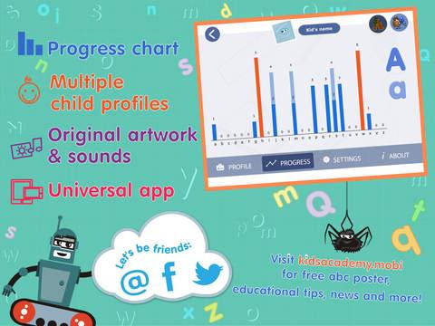 ABCs alphabet phonics games for kids based on Montessori learining approach screenshot 7