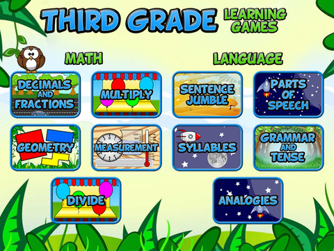 Third Grade Learning Games screenshot 6