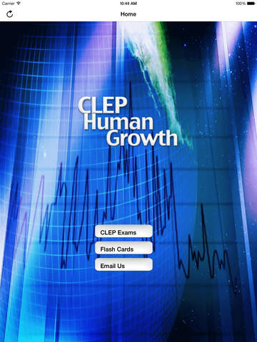 CLEP Human Growth Buddy screenshot 6