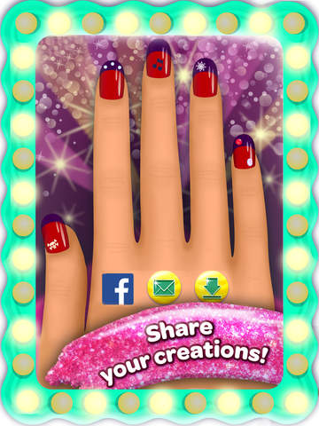 Crayola Nail Party – A Nail Salon Experience screenshot 10