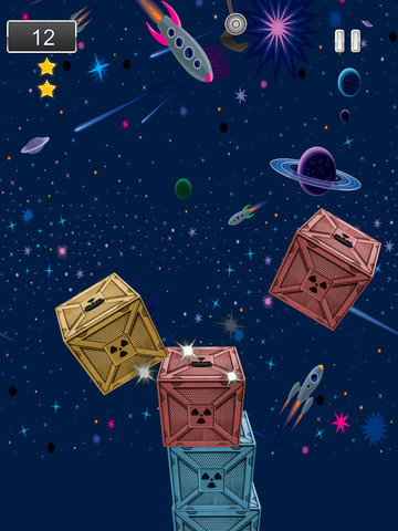A Space Frontier Crane Stacker Game Pro Full Version screenshot 8