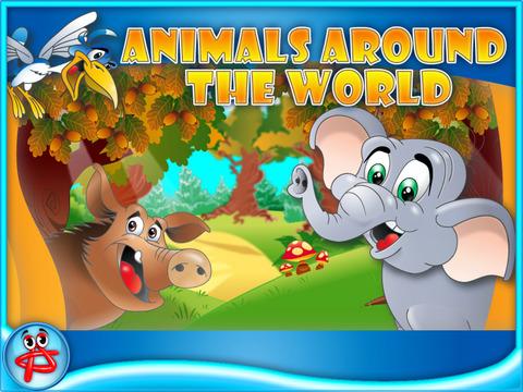 Animals Around the World Lite screenshot 2