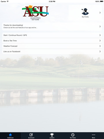 ASU Karsten Golf Course screenshot 7