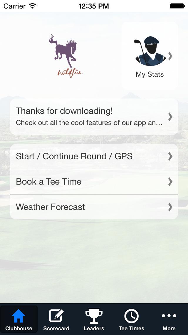 Wildfire Golf Club screenshot 2