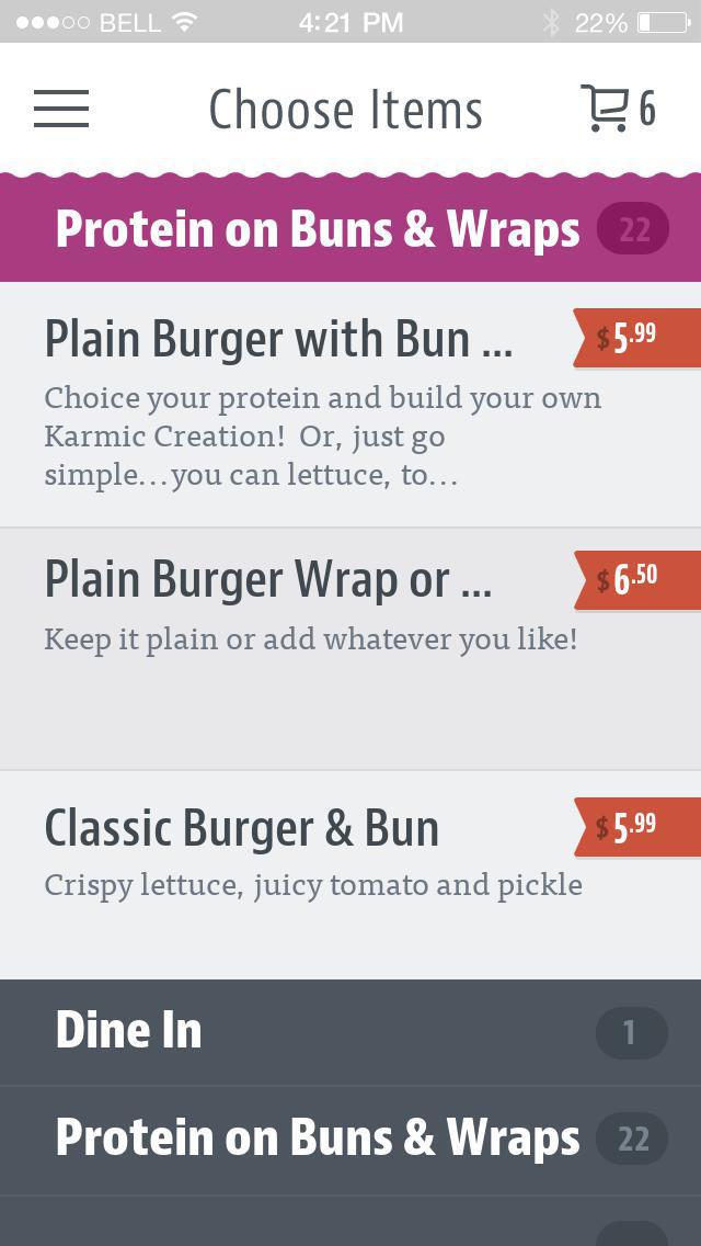 The GKC Burgers & Bowls screenshot 3