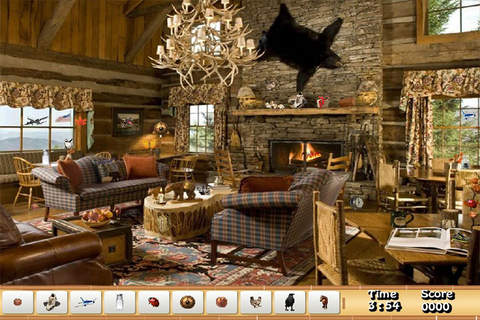 Cottage Hidden Objects Game - náhled