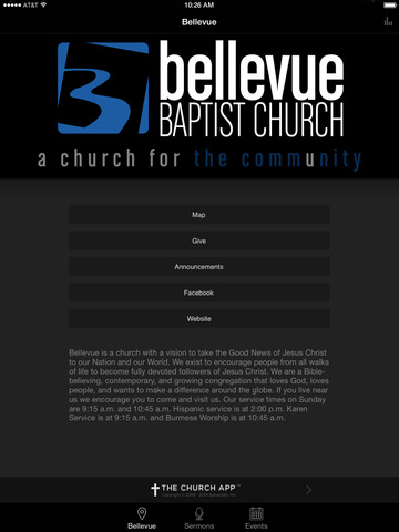Bellevue Baptist Church screenshot 4
