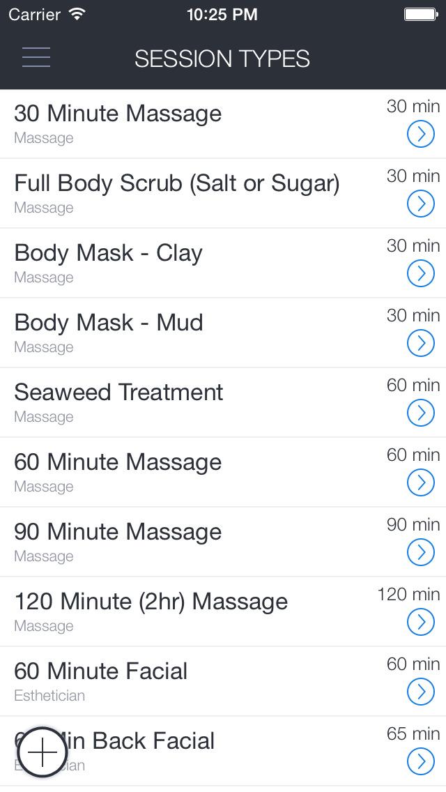 Mineral Bodyworks screenshot 1