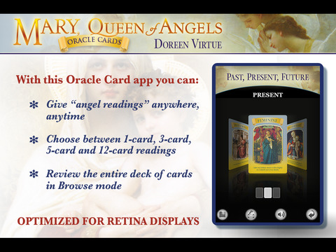 Mary, Queen of Angels Oracle Cards - Doreen Virtue, Ph.D. screenshot 5