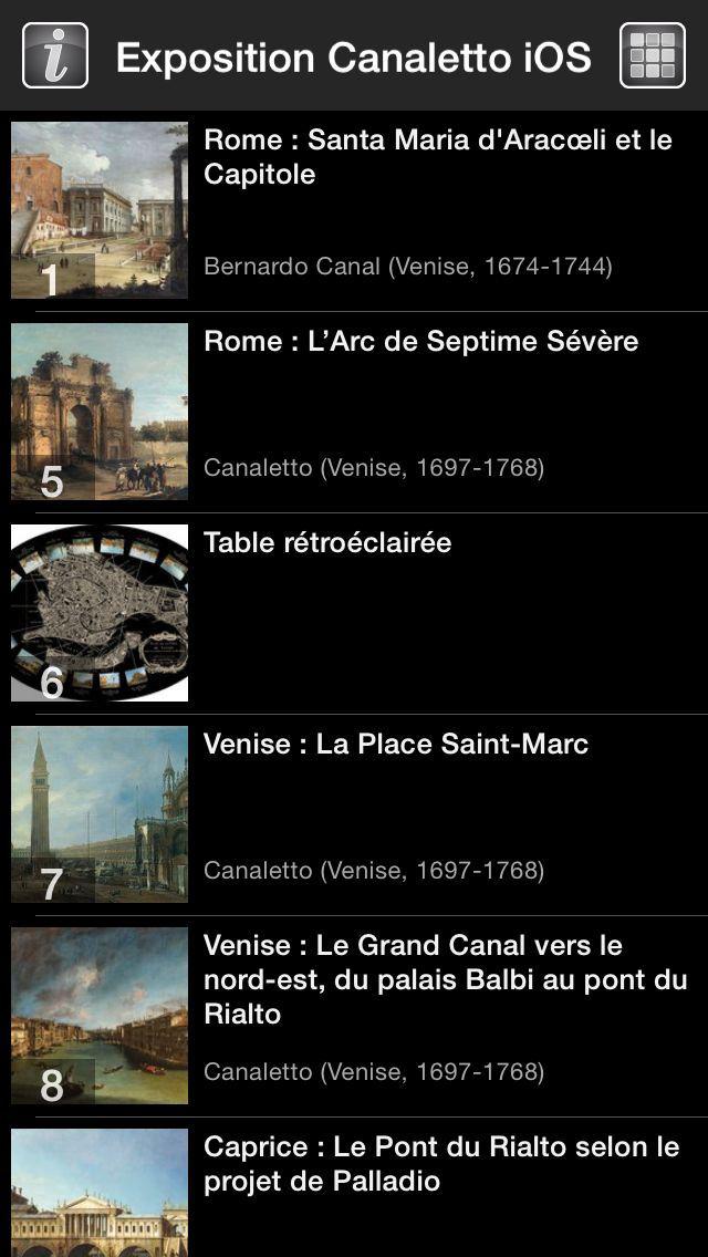 CANALETTO, Rome – Londres – Venise. Le triomphe de la lumière HD screenshot 3