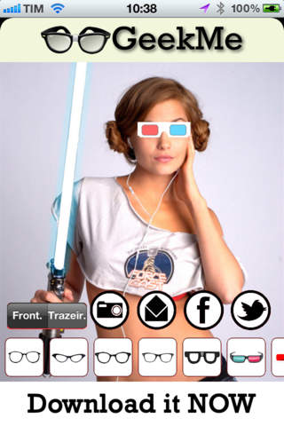 Geek Me - Geekfy yourself! Augmented Reality to ad - náhled