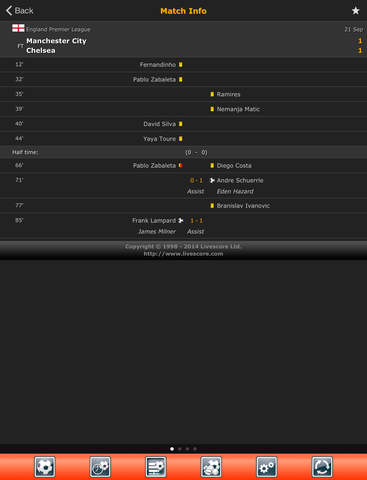 LiveScore: Live Sport Updates screenshot 7
