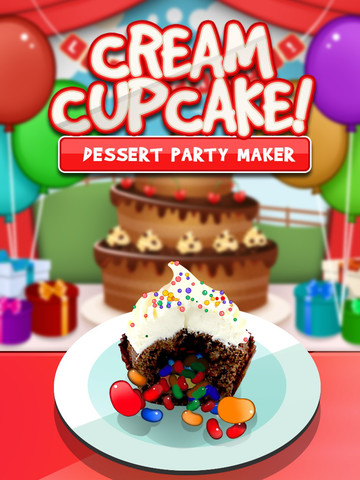 Awesome Cream Cupcake Dessert Maker - Food Baking screenshot 4