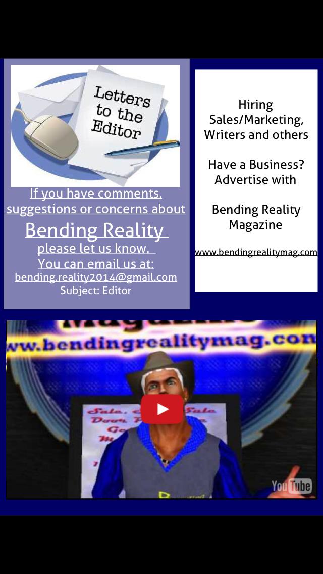Bending Reality Magazine screenshot 4