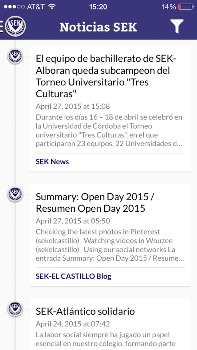 SEK International Schools | Apps | 148Apps