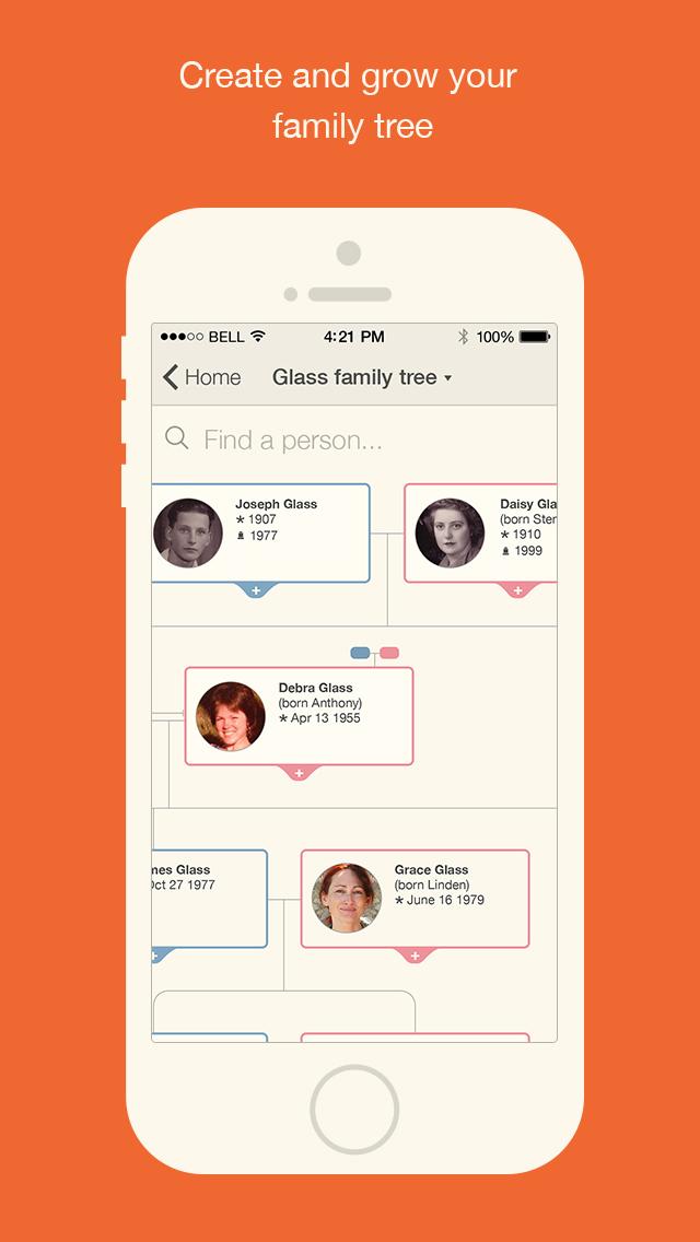 MyHeritage - Family tree screenshot 2