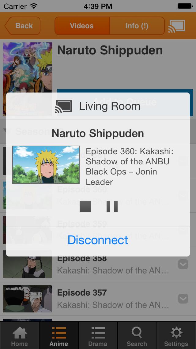 Crunchyroll screenshot 3