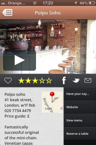 60secondreviews Restaurants - náhled