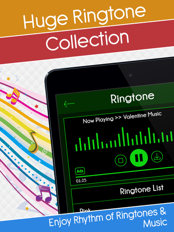 Lock Screen Wallpapers & HD Backgrounds With Ringtones & Sounds screenshot 7