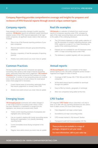 IFRS Review - náhled