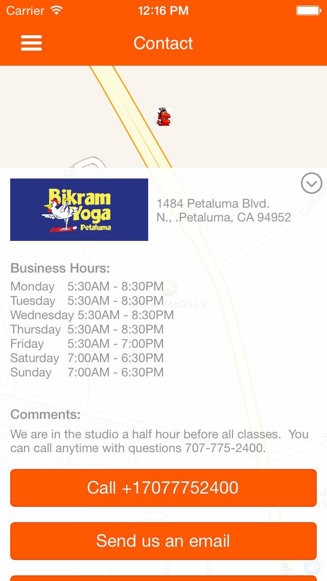 YOGA HELL Bikram Yoga Petaluma screenshot #5