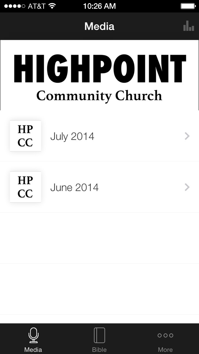 HighPoint Community Church screenshot 1