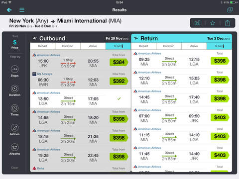 Skyscanner – travel deals screenshot 7
