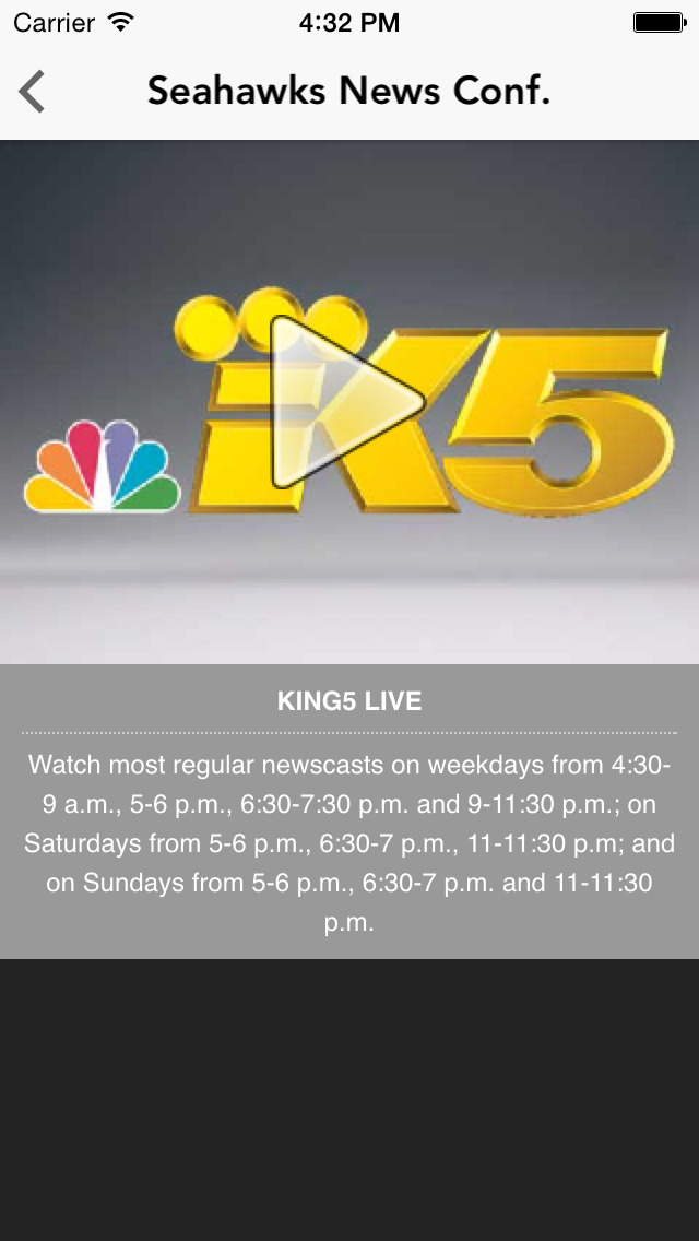 KING 5 screenshot 3