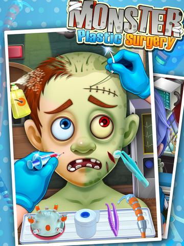 Monster's Plastic Surgery Simulator - Surgeon Games screenshot 4
